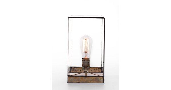 Geometrische lamp Lou – Brass – 30cm