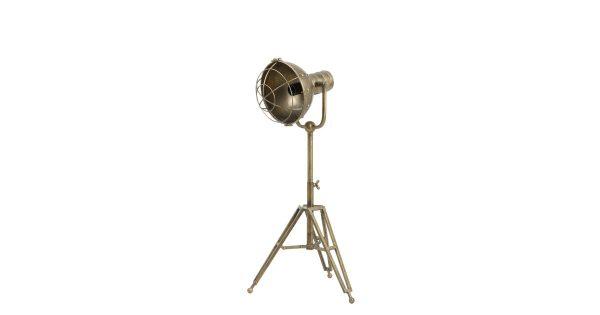 Tafellamp RYAN driepoot – brons