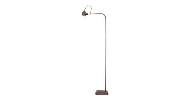Vloerlamp DAIMEN – roest – incl dimmer + lamp Led