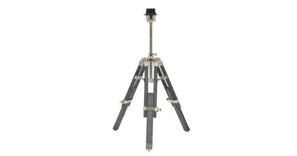 Vloerlamp MATISSE driepoot – Antiek grijs Verstelbaar – M