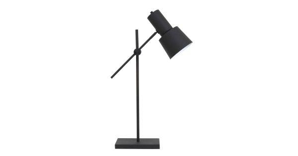 Tafellamp PRESTON – zwart