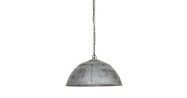 Hanglamp MARCHA – Industrieel Groen/Zilver