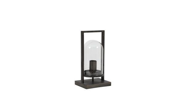 Tafellamp JELLE – antiek zwart