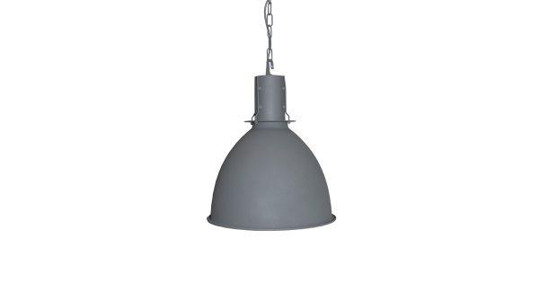 LABEL51 – Hanglamp Copenhagen 42x42x48 cm – Industrieel – Grijs
