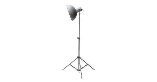 LABEL51 – Vloerlamp Urban 75x75x120-190 cm – Industrieel – Grijs