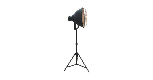 LABEL51 – Vloerlamp Max 60x60x145-170 cm – Industrieel – Zwart