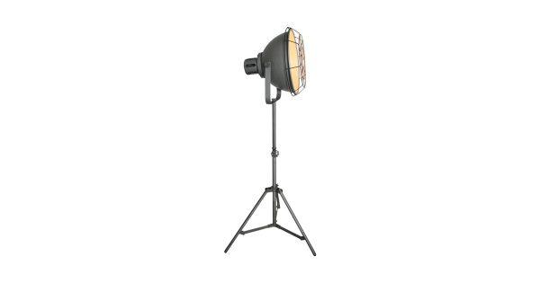 LABEL51 – Vloerlamp Max 60x60x145-170 cm – Industrieel – Metallic Grey