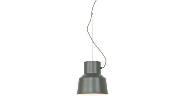 Belfast – Hanglamp – Mat-Grijsgroen