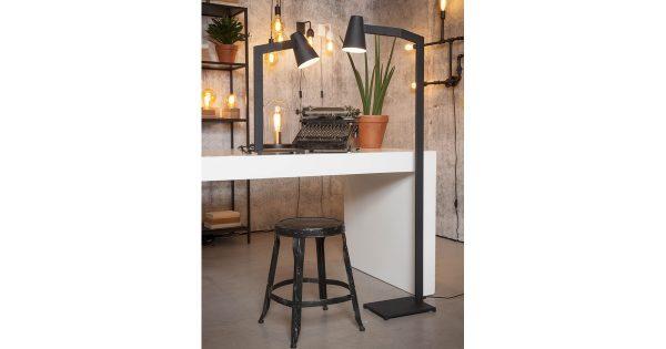 – Biarritz – Tafellamp – Mat-Zwart