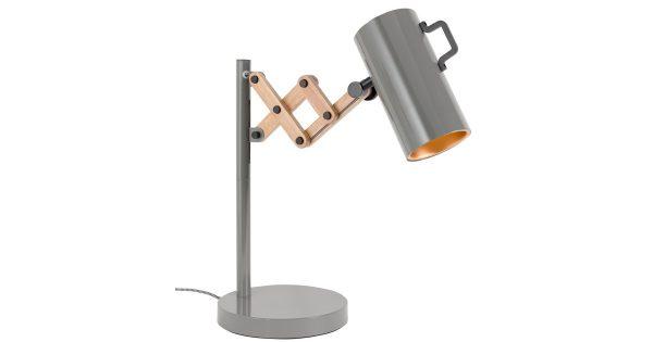 Zuiver Tafellamp Flex – Dimbaar – Grijs