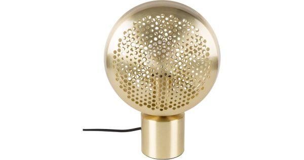 Zuiver Tafellamp Gringo 1-Lichts Ø22.5 X H30.5 Cm – Messing
