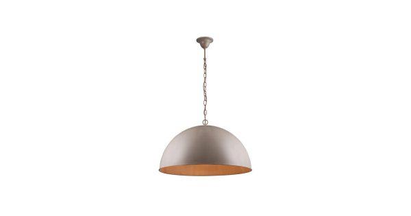 Linea Verdace Hanglamp Cupula Classic Ø50 Cm – Bruin Taupe