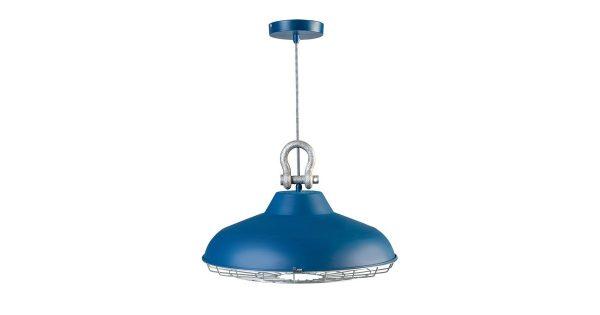 ETH Hanglamp Industry – Mat Blauw
