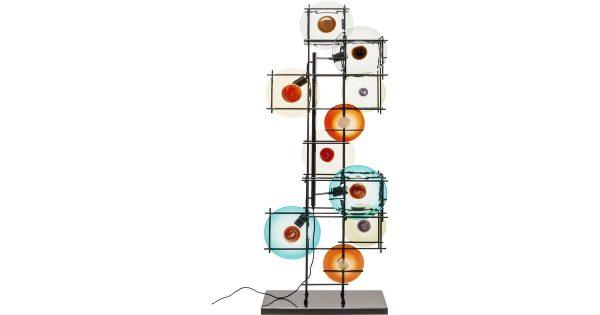 Kare Design – Vloerlamp Disk Colore – Multi Kleur
