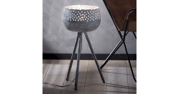 Tafellamp kartelrand/driepoot / Grijs