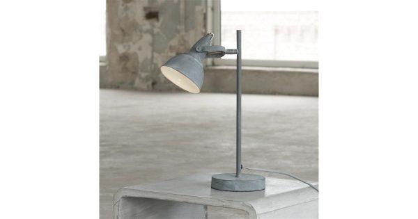 Tafellamp cup concrete. / Grijs