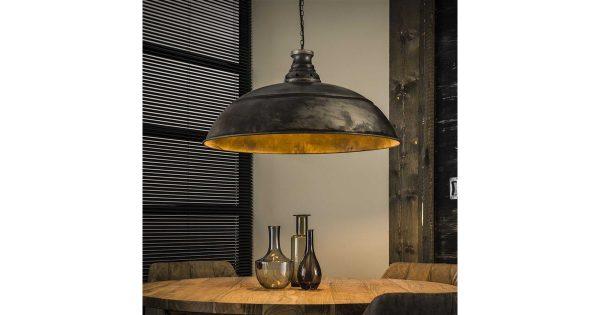 Hanglamp Ø80 industry / Oud zilver