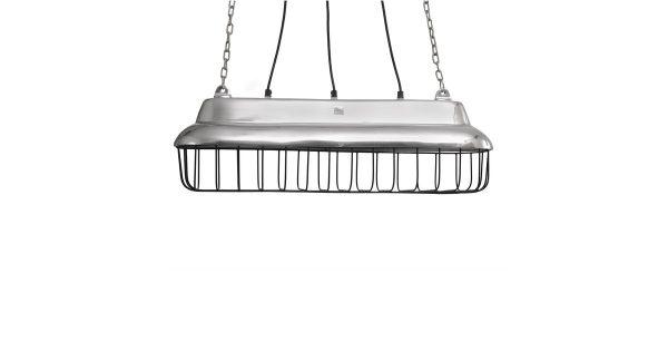 Alu Shiny Lamp – 24.5 x 22.0 x 70.0 cm