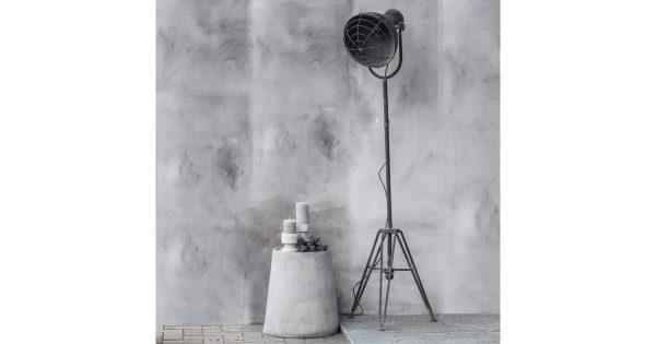Staande lamp metaal