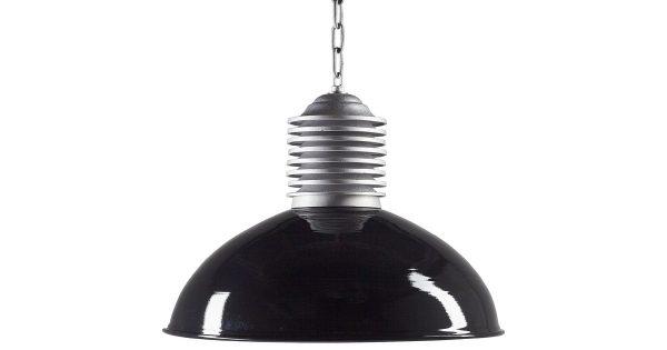 K.S. Verlichting Old Industrie Hanglamp – Zwart Glans