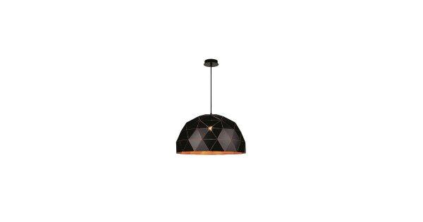 Lucide Otona Hanglamp Ø 60 cm – Zwart