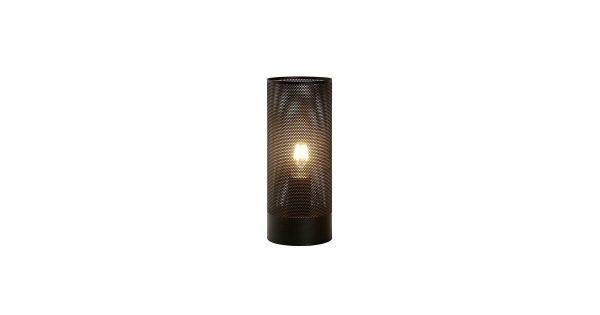 Lucide Beli Tafellamp Ø 12 cm – Zwart