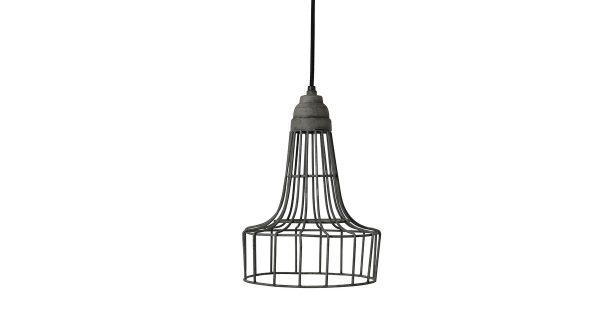 Light & Living Babette Hanglamp Ø 20 x 30 cm – Grijs