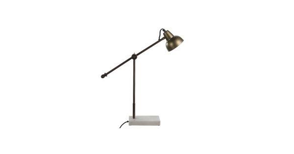 Casa Vivante Vita Tafellamp Ijzer Goud – 60 x 12